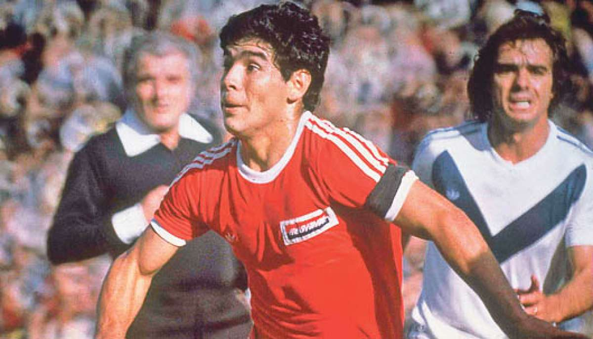 maradona argentinos jrs