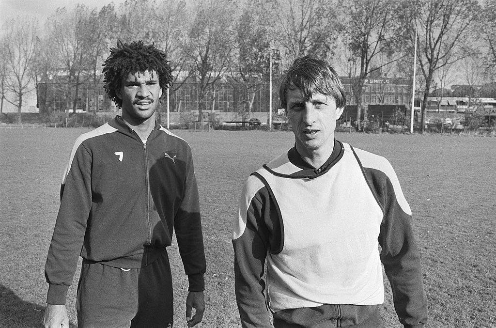 Gullit e Cruijff a Feyenoord 1983