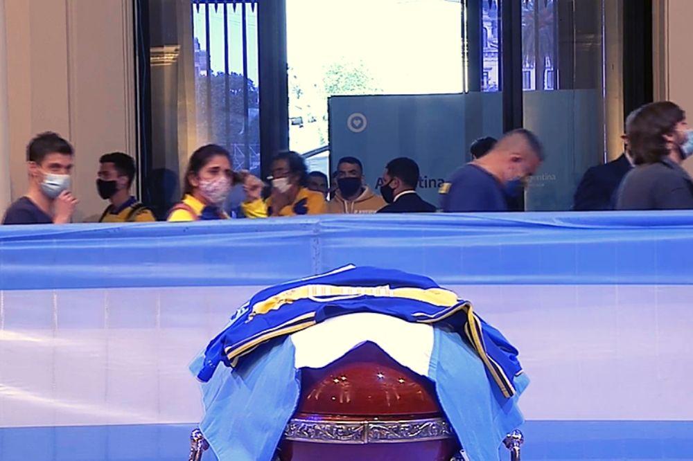 funerali maradona